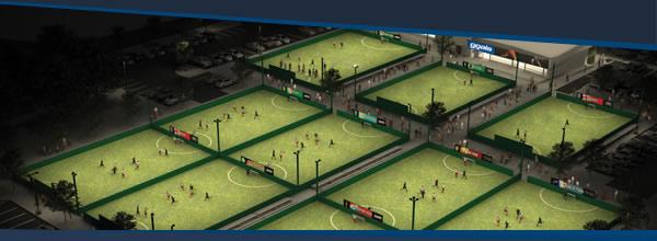 Map of Manchester Goals