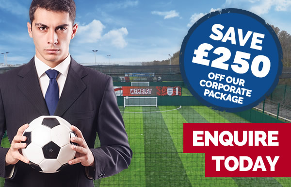 Save £250 off our corporate package