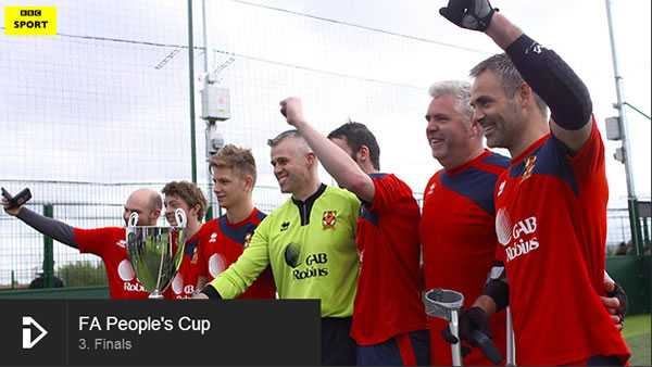 The FA People's Cup Winners 2015
