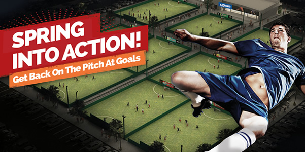 Spring Into Action. Get Back On The Pitch At Goals